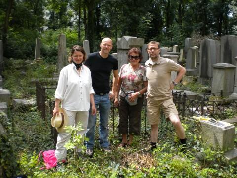 mit Tina Walzer, GR Marco Schreuder und Ruth Fuchs