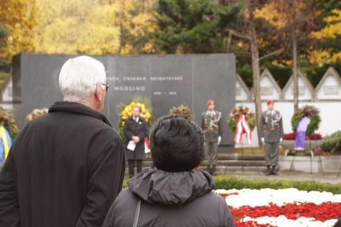 Rede am Soldatendenkmal