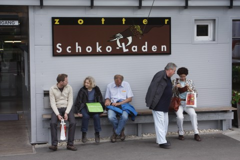 Die Mödlinger GRÜNEN beim Zotter (GRÜNER Ausflug 2010)
