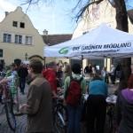 Viele, viele Leute bei der GRÜNEN Fahrradbörse