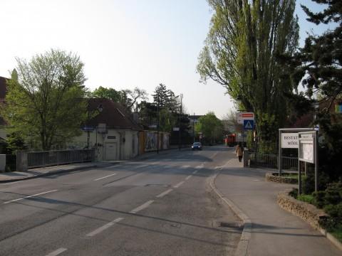 Kreuzung Badstraße / Achsenaugasse
