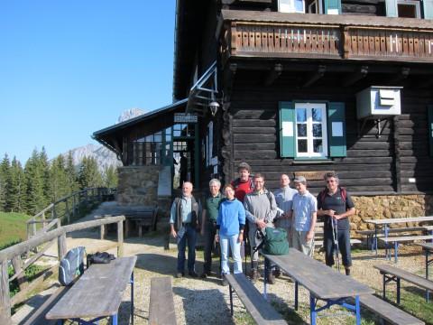 Mödlinger Hütte (1523m) - am 22. Mai 2011