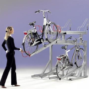 Ein neues und vielversprechendes System zur Aufbewahung von Fahrrädern