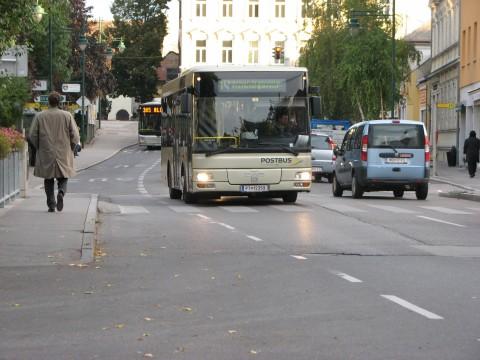 Der Mödlinger Citybus in der Badstraße
