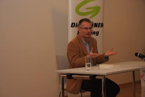 Dr. Markus Marterbauer zu Gast im - an diesem Tag GRÜNEN - Schöffelhaus
