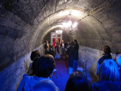 Theater vom Feinsten - in den Stollen des Luftschutzbunkers in Mödling