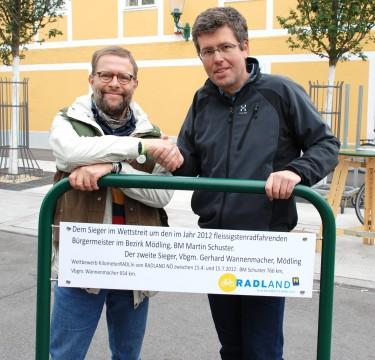 ..bei der Preisübergabe am Autofreien Tag in Mödling, 22. September 2012 (c) Pistrol