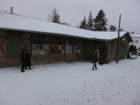 Der alte Perchtoldsdorfer Personenbahnhof