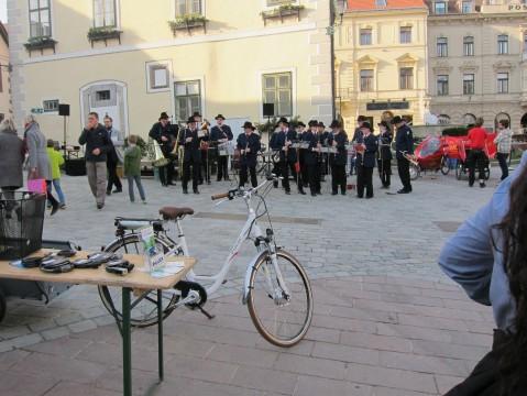 Blasmusik beim Radfest