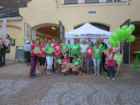 Danke an die OrganisatorInnen, Elisabeth und Florian und an eine große Zahl von HelferInnen!