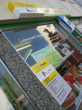 """Ein neues """"Postamt"""" in Mödling: Buchbergergasse 11"""