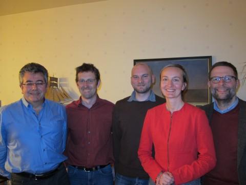 Klaus Hochkogler, Anton Glasmaier, Rainer Praschak, Anna-Theres Teichgräber, Gerhard Wannenmacher