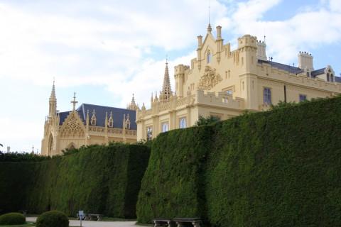 Das fürstlich-liechtensteinische Schloss Valtice