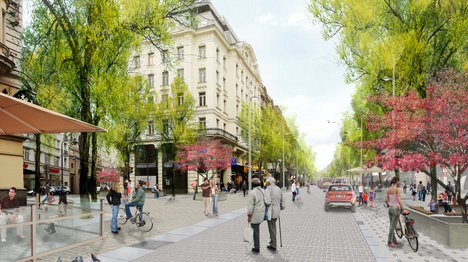 So wird´s bald auf der Mariahilferstraße aussehen :-)
