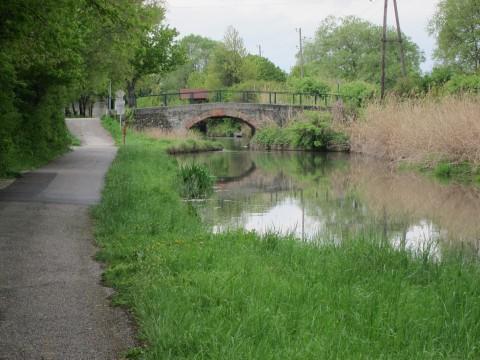Ein paar alte Brücken sind noch erhalten