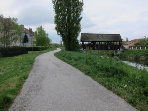 Stadteinfahrt nach Wr. Neustadt