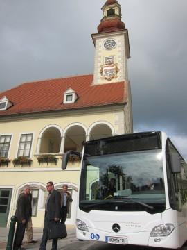 Der neue Citybus ist ein Mercedes 530 CITARO K