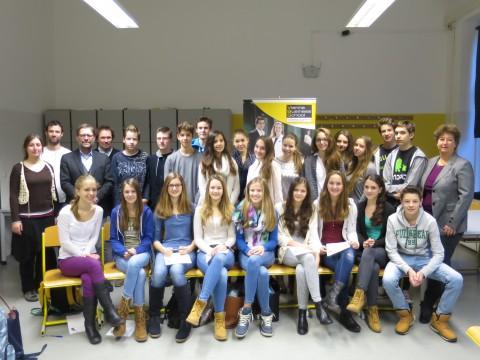 Gruppenbild vom Workshop am 16. Dezember 2014