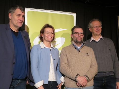Rüdiger Maresch, Amrita Enzinger mit uns Mödlingern...