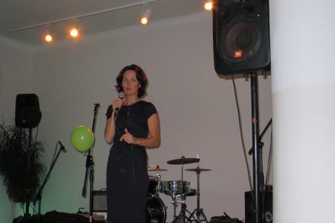 Die politische Chefin: Eva Glawischnig, bei uns in Mödling